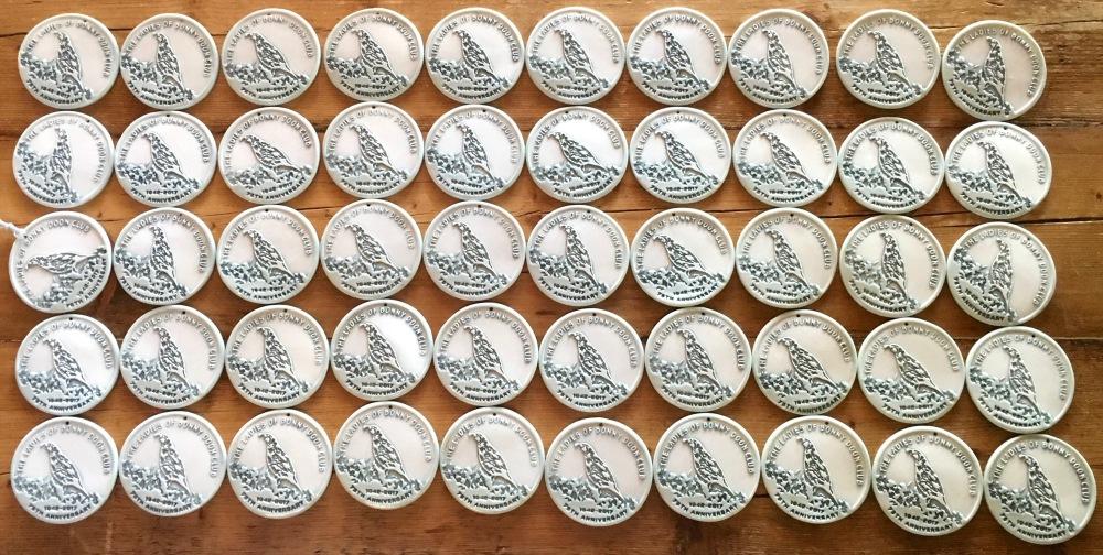50 custom Quail ornaments